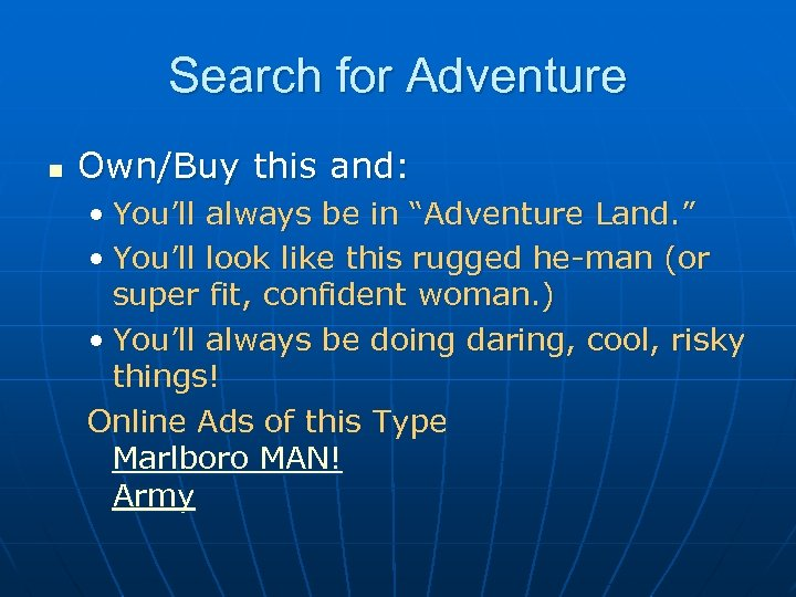 """Search for Adventure n Own/Buy this and: • You'll always be in """"Adventure Land."""