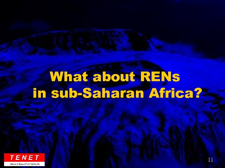 What about RENs in sub-Saharan Africa? 11