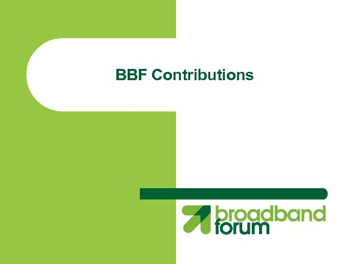 BBF Contributions