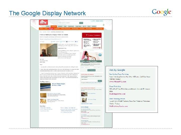 The Google Display Network