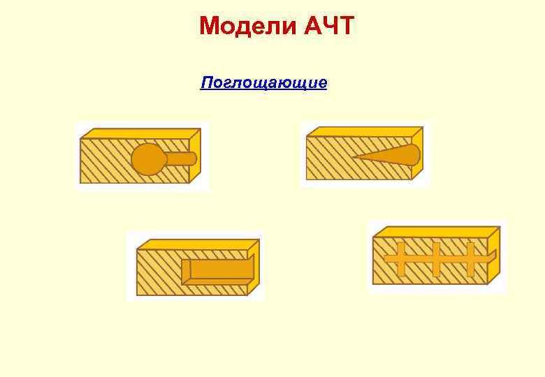 Модели АЧТ Поглощающие