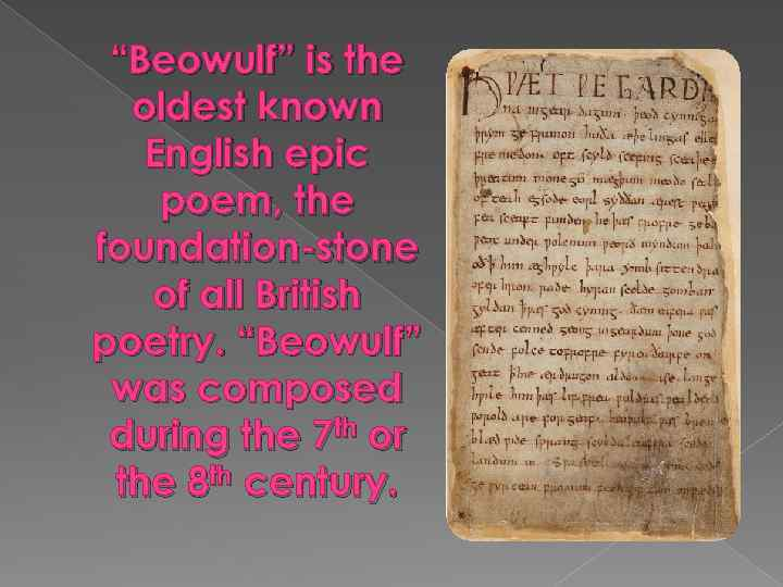 the epic poem beowulf a jungian reading Use jungian archetypes for characters  then let's open up this book and begin reading  (and the epic poem beowulf.