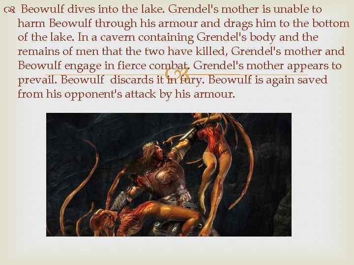 a comparison of beowulf and grendel Compare beowulf with grendel in easy-to-read side-by-side columns.