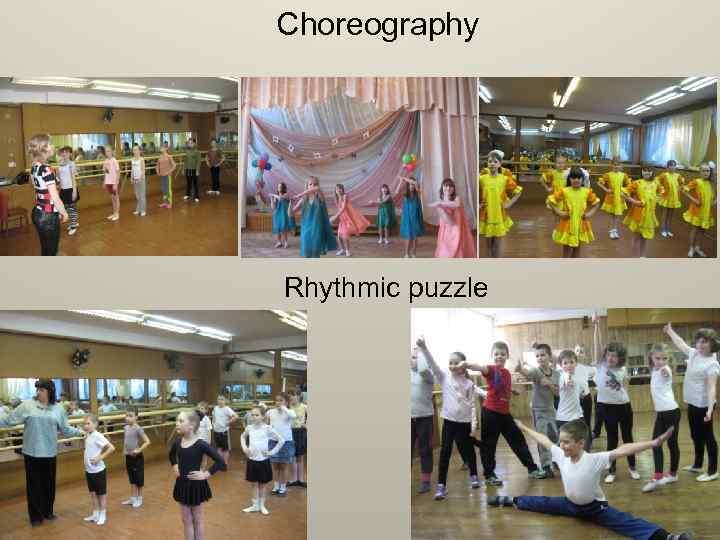 Choreography Rhythmic puzzle