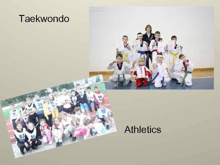 Taekwondo Athletics