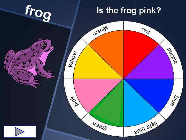 frog Is the frog pink?