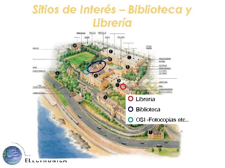 Sitios de Interés – Biblioteca y Librería Biblioteca OSI -Fotocopias etc. .