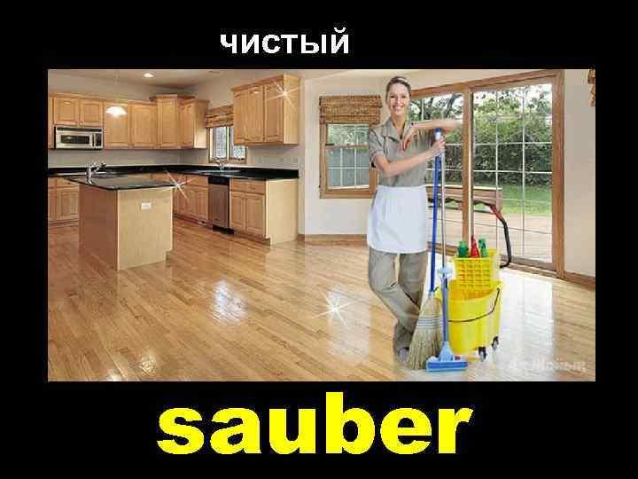 чистый sauber