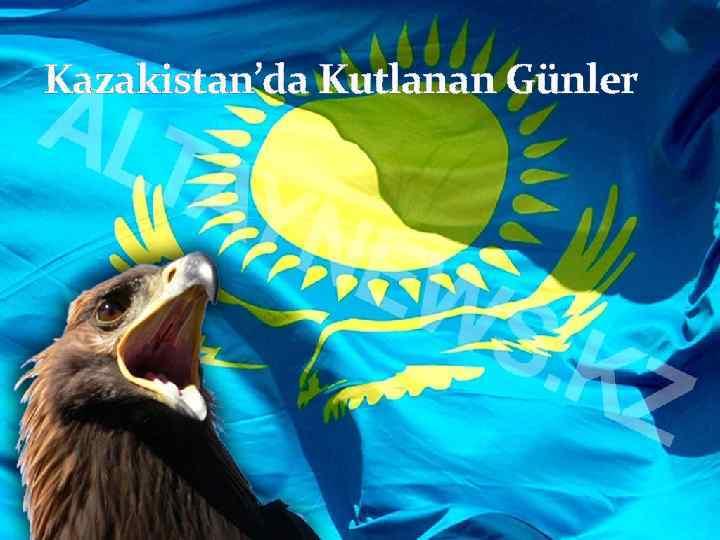 Kazakistan'da Kutlanan Günler