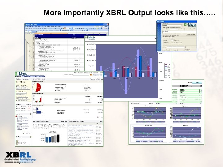 More Importantly XBRL Output looks like this…. .