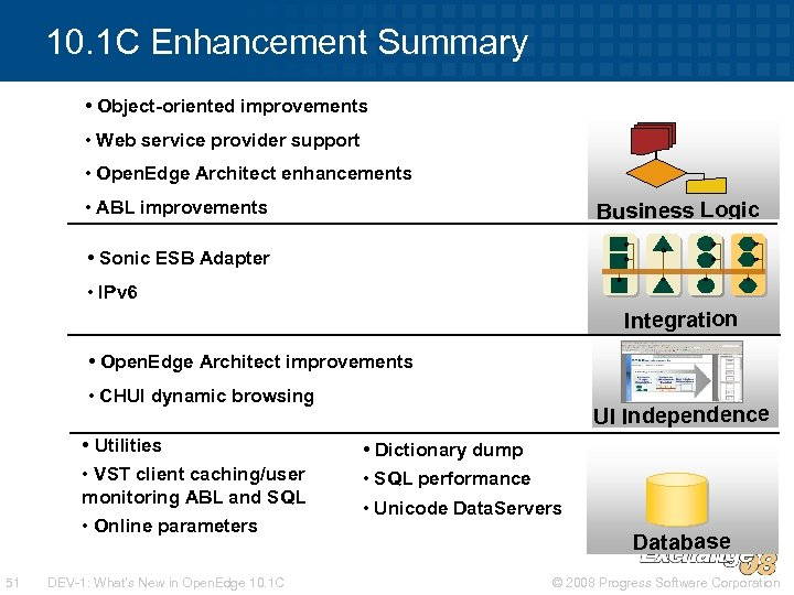 10. 1 C Enhancement Summary • Object-oriented improvements • Web service provider support •