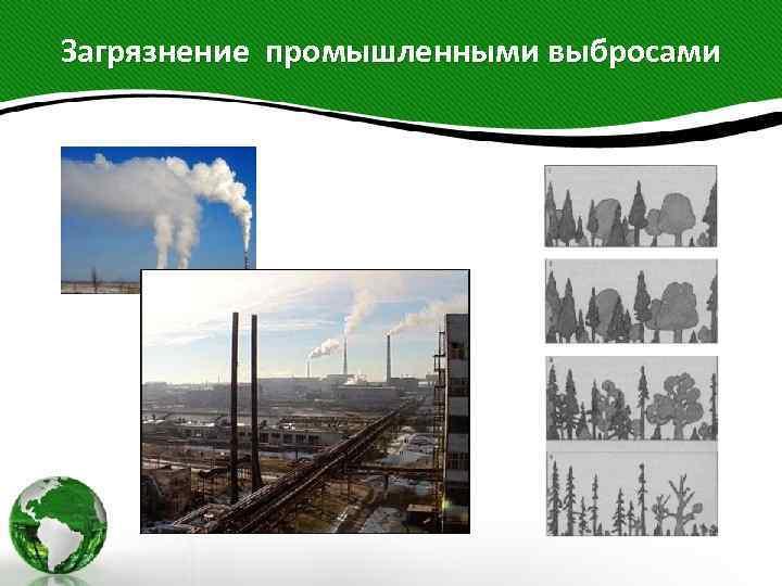 Загрязнение промышленными выбросами