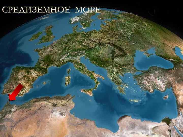 СРЕДИЗЕМНОЕ МОРЕ Море омывающее берега Африки, Азии и Европы.
