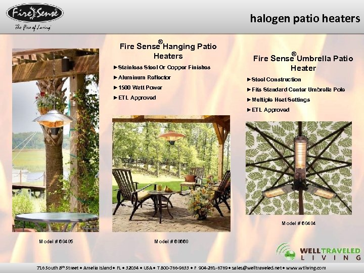 halogen patio heaters ® Fire Sense Hanging Patio Heaters ►Stainless Steel Or Copper Finishes