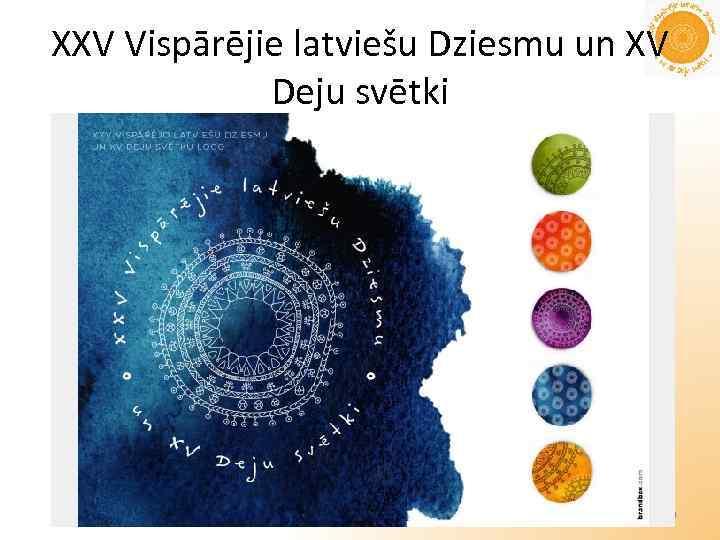 XXV Vispārējie latviešu Dziesmu un XV Deju svētki Andrejs Hairulins 9
