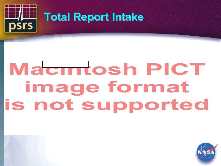 Total Report Intake