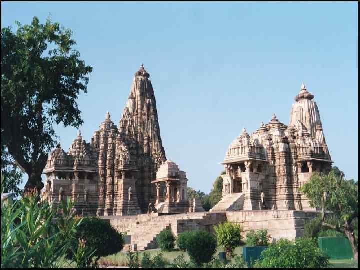 Индуистский храм Кхаджурахо.