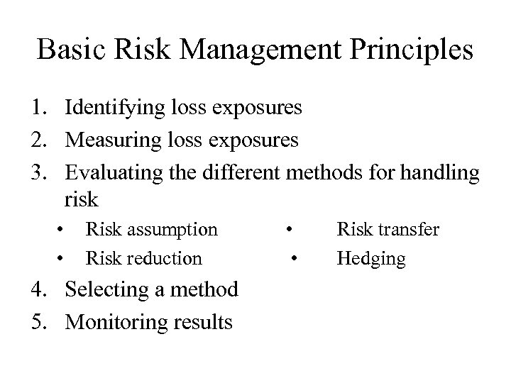 different perspectives for risk management Perspectives on risk management in societal risk assessment, pp 287-318 springer us, 1980  in other words, a litany of life'ssorrows not very different from those which concern us today the institutionalized expertise of that earlier time resided with the church then, as now, the experts were called upon to provide explanation.