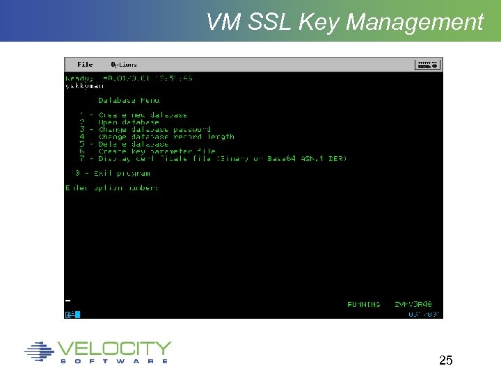 VM SSL Key Management 25