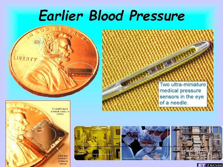 Earlier Blood Pressure 9