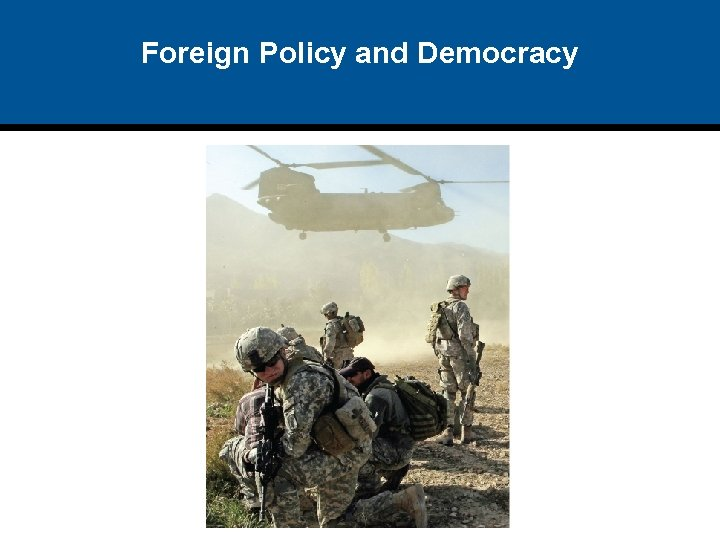 Foreign Policy and Democracy