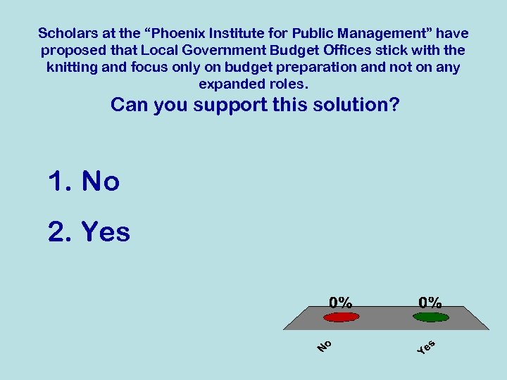 """Scholars at the """"Phoenix Institute for Public Management"""" have proposed that Local Government Budget"""