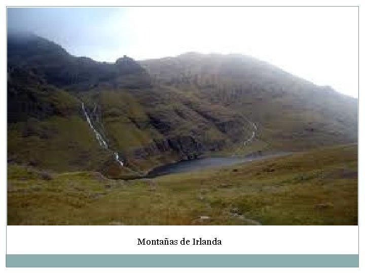 Montañas de Irlanda