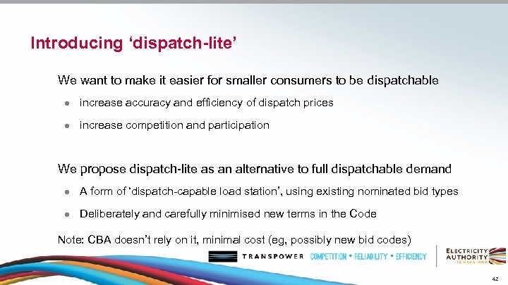 Introducing 'dispatch-lite' We want to make it easier for smaller consumers to be dispatchable