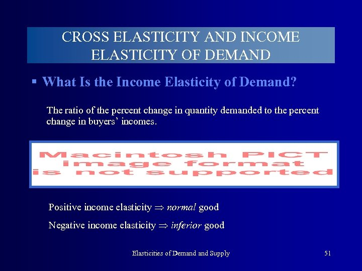 CROSS ELASTICITY AND INCOME ELASTICITY OF DEMAND § What Is the Income Elasticity of