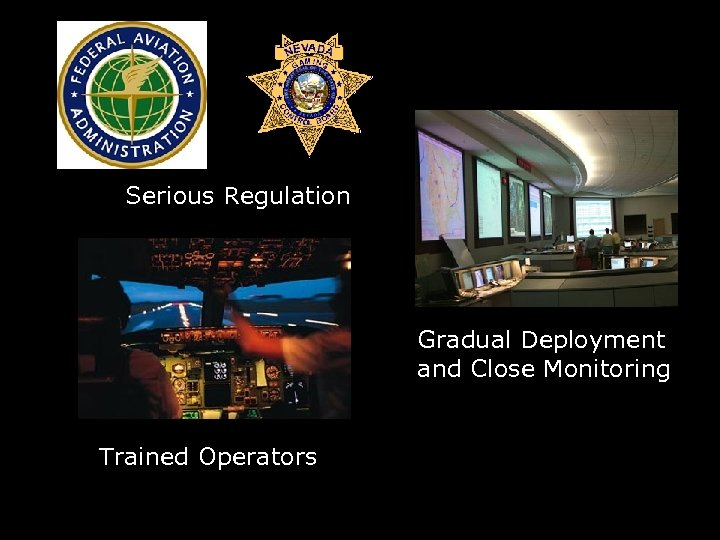 Serious Regulation Gradual Deployment and Close Monitoring Trained Operators