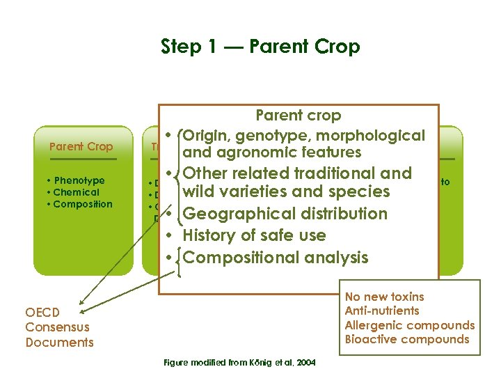 Step 1 — Parent Crop • Phenotype • Chemical • Composition Parent crop •