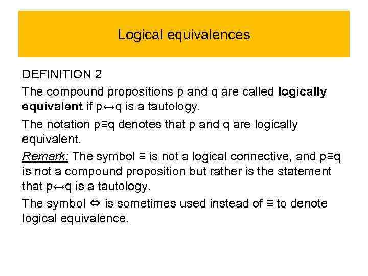 Propositional Logic Irina Prosvirnina Propositions Compound