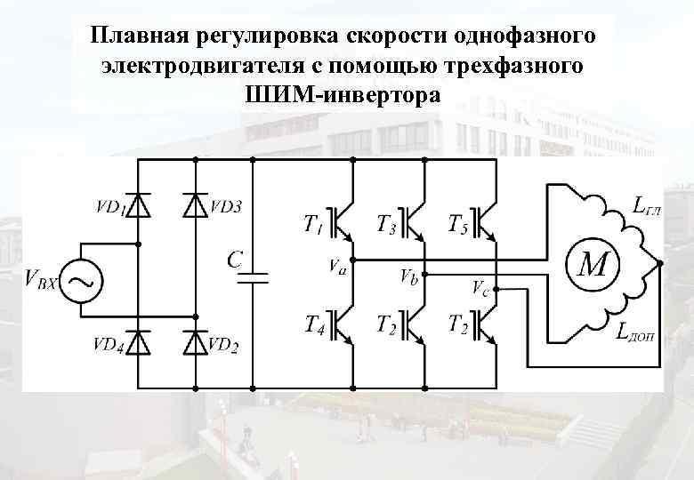 Регулировка оборотов трехфазного двигателя своими руками
