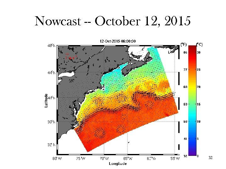 Nowcast -- October 12, 2015 32