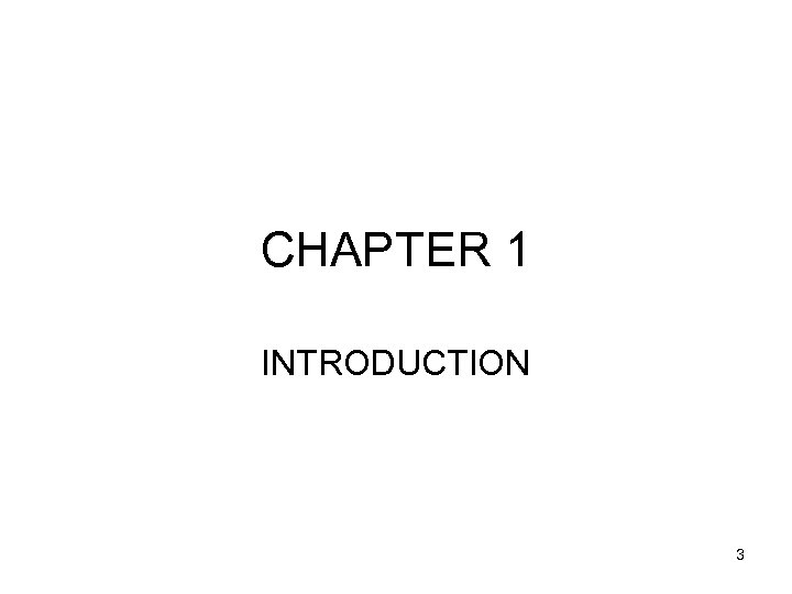 CHAPTER 1 INTRODUCTION 3