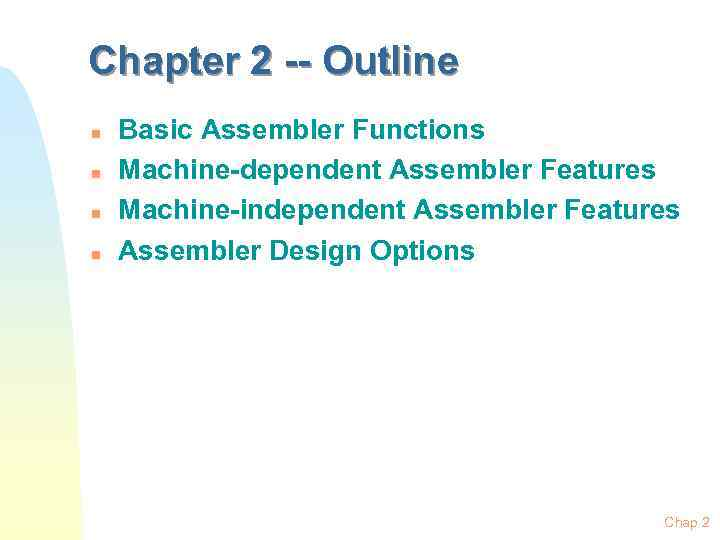 Assemblers System Software By Leland L Beck Chapter