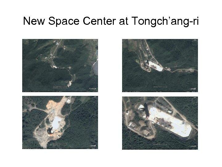 New Space Center at Tongch'ang-ri