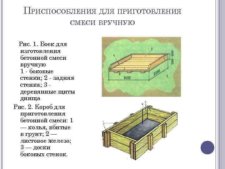 Боек для бетонной смеси бетонные смеси пропорции гост