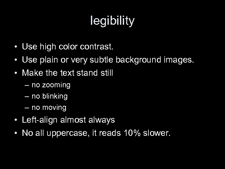 LIS 650 lecture 3 Web site design Thomas