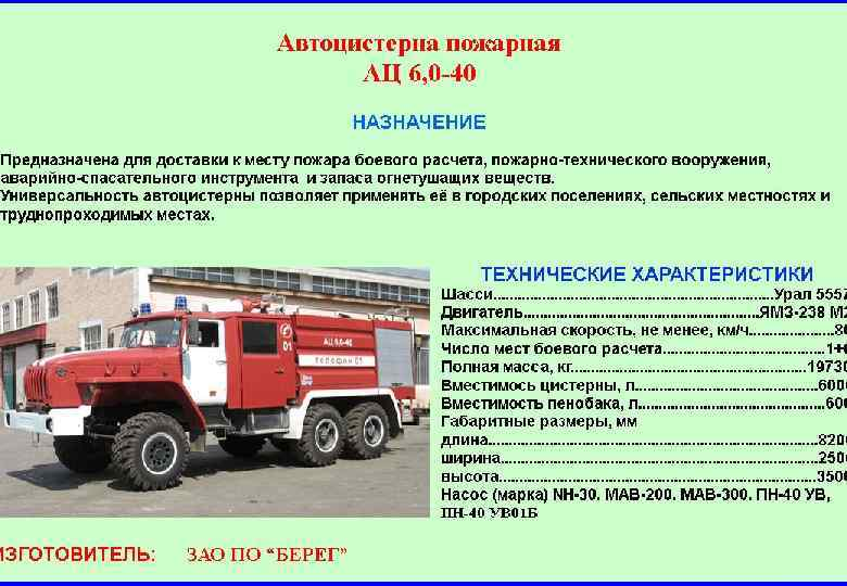 Шпаргалка Водителю Пожарного Автомобиля