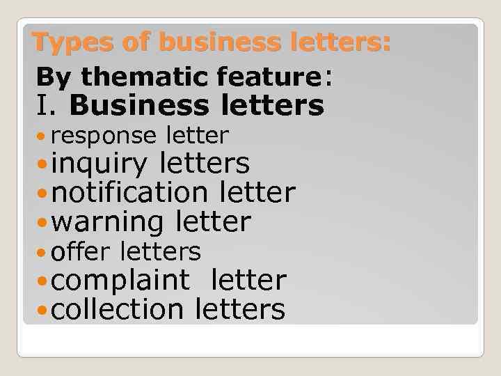 Business letter Grinko M N Business letter