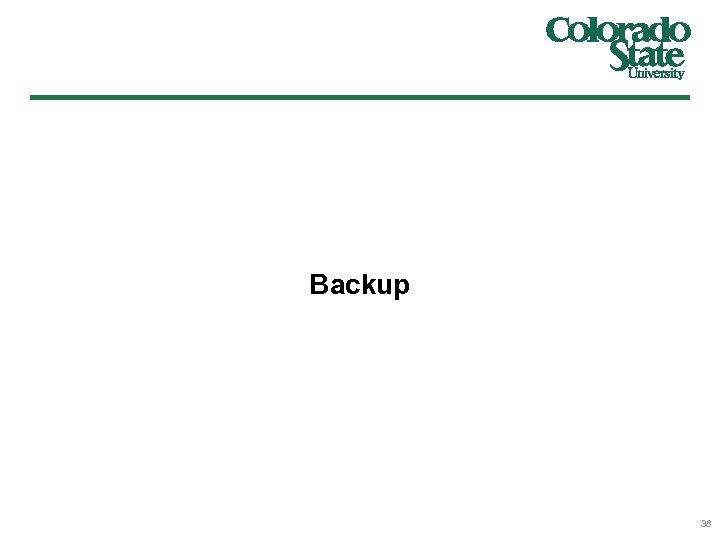 Backup 38