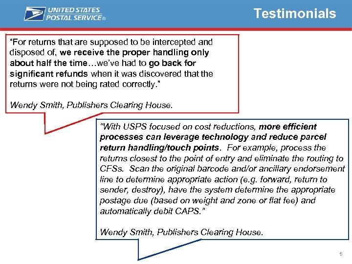 Publishers Clearing House Return Address