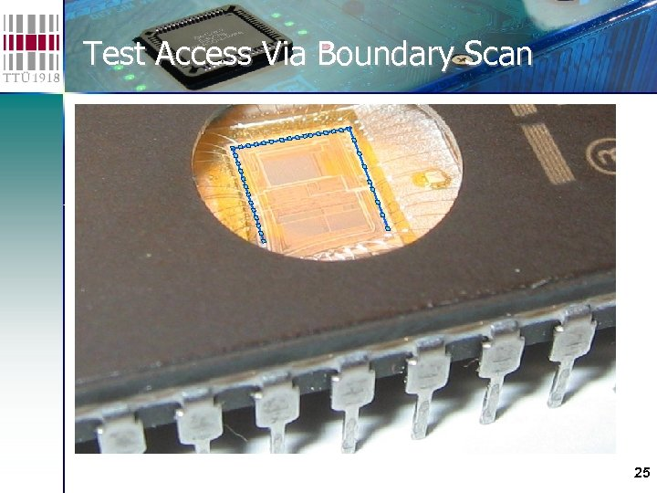 Test Access Via Boundary Scan 25