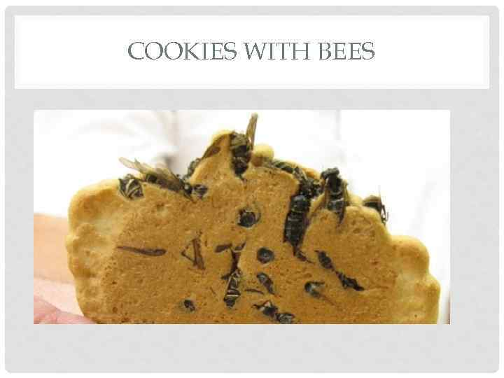 COOKIES WITH BEES