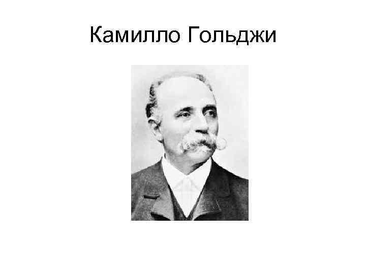 Камилло Гольджи