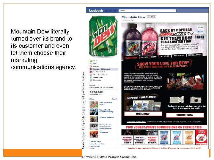 Mountain Dew literally turned over its brand to its customer and even let them