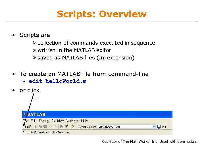6 094 Introduction to Programming in MATLAB Lecture