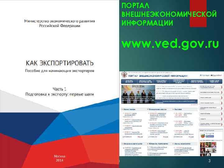 ПОРТАЛ ВНЕШНЕЭКОНОМИЧЕСКОЙ ИНФОРМАЦИИ www. ved. gov. ru Лекция 8 3