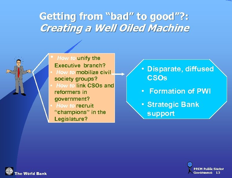 "Getting from ""bad"" to good""? : Creating a Well Oiled Machine • How to"